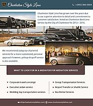 Reasons of Booking Shuttle Services from Charleston Style Limo!