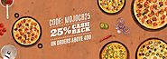 Mojo Pizza Coupons → Buy 1 Get 1 Free  Promo Code