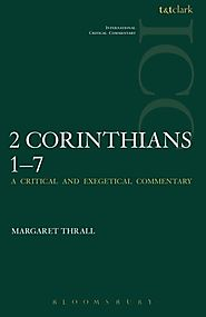 2 Corinthians (two volumes; ICC) by Margaret Thrall