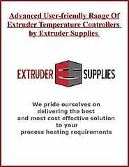 Advanced User-friendly Range Of Extruder Temperature Controllers by Extruder Supplies