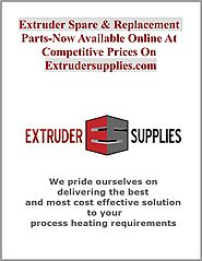 Extruder Spare & Replacement Parts-Now Available Online At Competitive Prices On Extrudersupplies