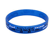 Printed Silicone Wristband Manufacturer Services In India With Comprehensive Prise
