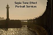 Sepia Portraits Retouching Services | Canvas Photo Retouching | Vignette Photo Retouching