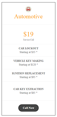 Automotive Locksmith in Fulton