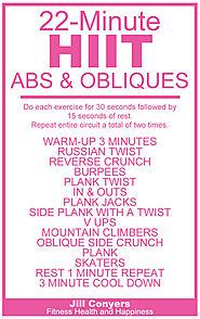 22-Minute HIIT for Abs & Oblique