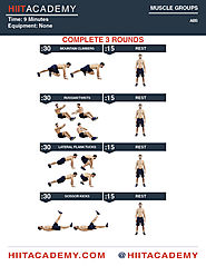 Killer Quick High Intensity Ab Workout