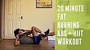 Fat Burning HIIT Cardio and Abs Workout