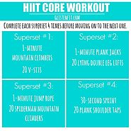 Core HIIT Workout