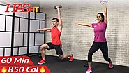 Full Body High-Intensity Workout At Home