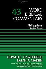 Philippians (WBC) by Gerald F. Hawthorne and Ralph P. Martin