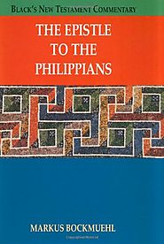 The Epistle to Philippians (BNTC) by Markus Bockmuehl
