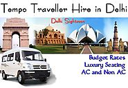 Tempo Traveller Hire on Rent in Delhi - Rental Tempo Traveller Services