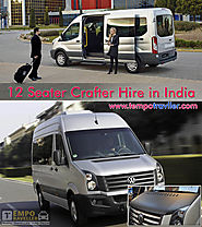 12 Seater Crafter Hire on Rent | Volkswagen Crafter India