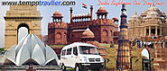 Tempo Traveller Hire in Delhi | Booking Online Luxury Tempo Traveller