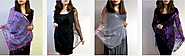 Luxurious Collection Of Silk Evening wrap, Evening shawls