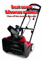 best snow blowers market: Clean off that snow the easy way!