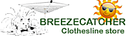 Strong and Durable Outdoor Clothesline Pole – BreezeCatcher Clothesline