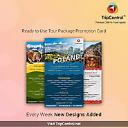 Tour Promotion Cards - A Way to Traveler's Heart