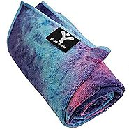 Yoga Mate Perfect Yoga Towel - Super Soft, Sweat Absorbent, Non-Slip Bikram Hot Yoga Towels | Perfect Size For Mat - ...