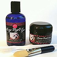 Always Bright Eyes -Tear Stain Remover for Dogs And Cats- Complete Set Includes Powder, Liquid And Application Brushe...