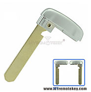 Smart emergency key blade for Acura MDX RLX TLX
