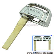 Smart emergency key blade for Audi A4 S4 A5 S5 Q5