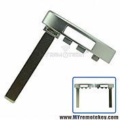Smart emergency key blade for Cadillac ATS CTS ELR SRX XTS