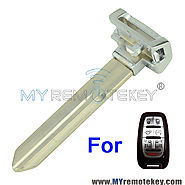 Smart key emergency blade for 2017 Chrysler Pacifica Van