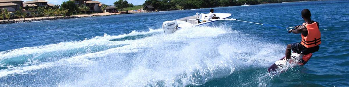 Headline for Top 5 watersports in Mauritius