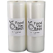 FoodVacBags for Sous Vide - 2-pack