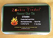 Pioneer Char Tin, Flint & Steel Fire Kit, Zombie Tinder