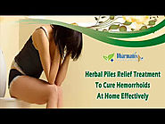 Herbal Piles Relief Treatment To Cure Hemorrhoids At Home Effectively