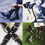 SALE - BLACK LEATHER BOOTS | The Latest Women Online fashion Shoes. Clothing. Bags.
