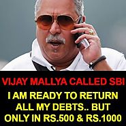 Mallya Called SBI