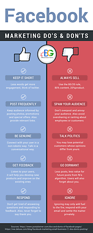 Facebook Marketing Do's and Don'ts [Infographic]