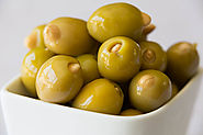 Live a Healthy and Active Life with Green Olives Stuffed with Almonds