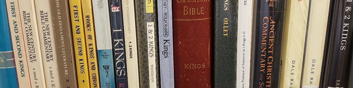 Headline for Best Bible Commentaries on 2 Kings