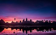 Angkor Wat And Surrounding Majestic Temples In Siem Reap, Cambodia