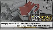 Refinance mortgages with bad credit quote