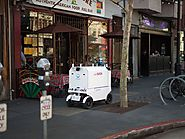Food delivery robots are rolling out in San Francisco
