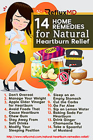14 Natural Heartburn Relief