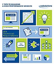 7 Tips to Building a High Performance Website Ebook