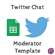Moderating a Twitter Chat: Google Sheets Template - Teacher Tech