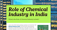 Role of Chemical Industry in India