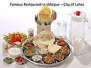 Famous restaurant in udaipur city of lakes