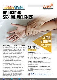 CARE Research Talk: Dialogue on Sexual Violence- Time Is Up. The Truth. The Action – CARE: Culture Centred Approach T...