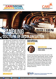CNM-CARE Research Talk: The Bandung Doctrine On Decolonisation- By Professor Kuan-Hsing Chen – CARE: Culture Centred ...
