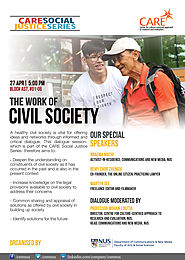 CNM-CARE Research Talk: The Work of Civil Society – CARE: Culture Centred Approach To Research and Evaluation