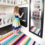 Crochet a T-Shirt Yarn Rug