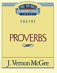 Proverbs (Thru the Bible) by J. Vernon McGee